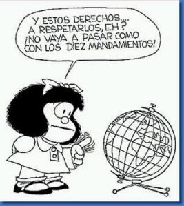 Mafalda y su mejor frase