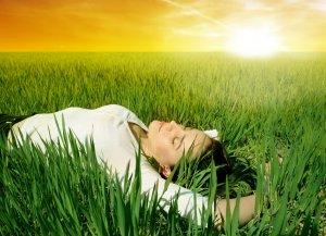 meditacion en el campo
