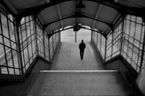paseando en soledad