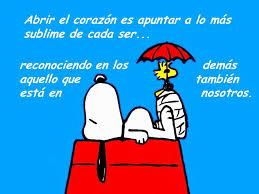 Snoopy ayuda