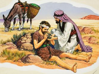 The Good Samaritan (?)