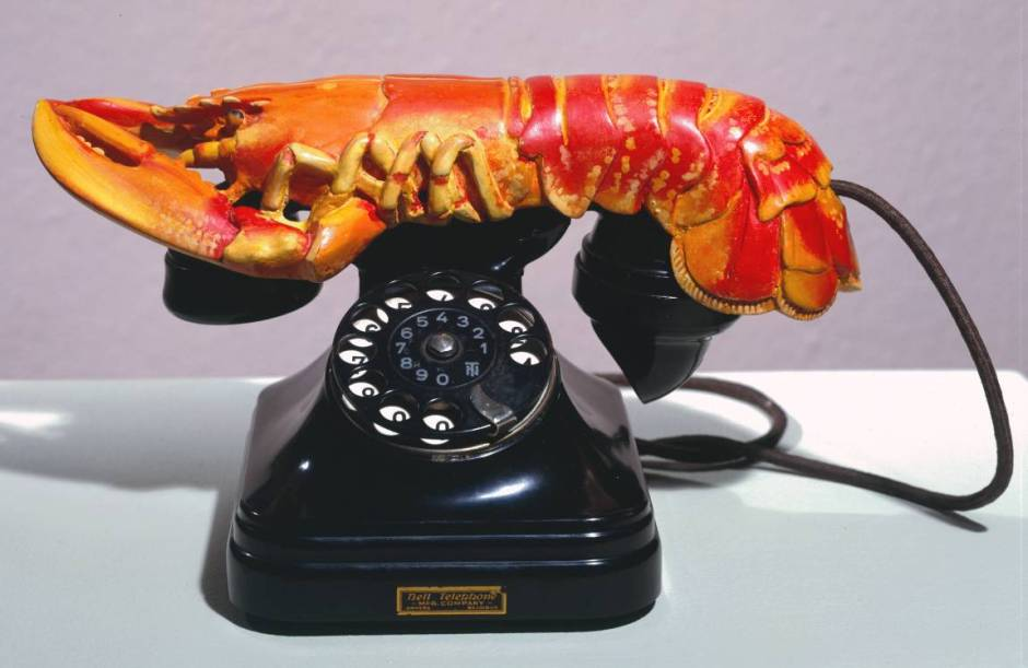 Lobster Telephone 1936 Salvador Dalí 1904-1989 Purchased 1981 http://www.tate.org.uk/art/work/T03257